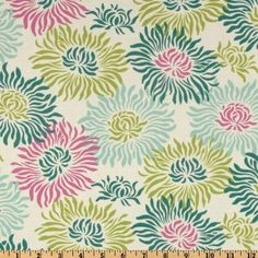44'' Wide Heather Bailey Freshcut Graphic Mums Turquoise Fabric By The Yard by Westminster Fabrics, http://www.amazon.com/dp/B00797LHC2/ref=cm_sw_r_pi_dp_nBE5pb0VVBZZ2