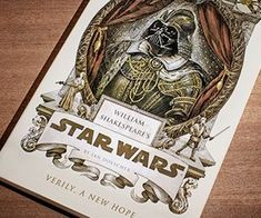 William Shakespeare's Star Wars - https://tiwib.co/william-shakespeares-star-wars/ #StarWars #gifts #giftideas #2017giftideas #xmas