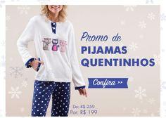 Promo de Pijamas Quentinhos Any Any Lingerie