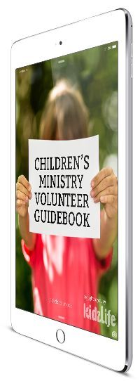 Free Children's Ministry Volunteer Guidebook. See if it works for you..then print it out!