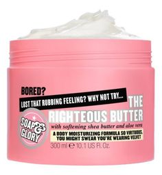 Smells like holidays // Soap and Glory The Righteous Butter 300ml - Boots