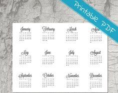 Planner Stickers and Printables van PlanningRoutine op Etsy