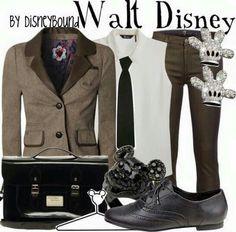 Disneybound clothing Walt disney