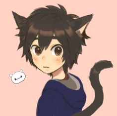 So if I'm a cat, does this mean Tadashi's a dog? Or is he a cat too?(he looks like Ame)
