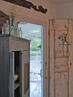 Chateau Chic - Fabulous Door with Hanging Lantern