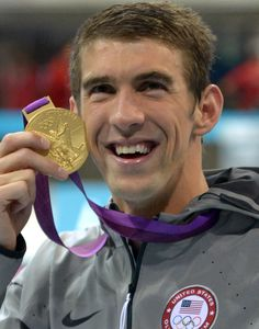 2012 London, 4x200 freestyle: Gold.    Credit: Kirby Lee-USA TODAY Sports