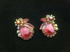 Gorgeous Juliana Pink Givre Glass & Rhinestone by SweetBettysBling, $42.00