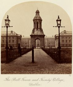 'The Bell Tower and Trinity College, Dublin'