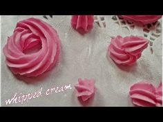 ▶ (Air Dry Clay)Tutorial 8 - Whipped Cream and Glaze - YouTube