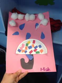 Arts and crafts for kids: Rainy day