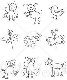 cool easy designs to draw on paper for kids google search things im going to do or make pinterest best easy designs and google search ideas - Simple Drawings For Toddlers