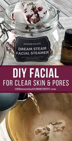 Lush copycat DIY acne facial tabs tighten pores, clear up acne, calm skin, & alleviate redness. naturally gentle & made with essential oils Homemade Facials, Homemade Skin Care, Young Living, Superfood, Acne Facial, Facial Diy, Doterra, Greasy Skin, Dry Skin