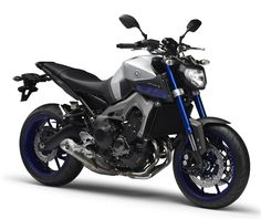 YAMAHA MT-09 ABS Racing Blue Tech Metal