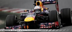 Australian GP: Vettel fastest during first free practice session at Melbourne