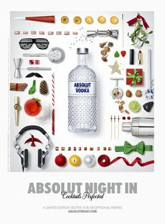 Absolut Night In; photography by Dwight Eschliman