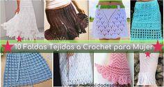 Increible coleccion de faldas en crochet para dama. Las faldas en crochet vienen de moda. ¿Se imaginan vistiendo una falda en ganchillo? Son maravillosas, finas, elegantes, simples, con puntadas increíbles. Aquí encontrará una colección de 10 hermosas faldas tejidas al … Ler mais... →