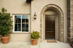 11 Elegant Front Door Design Ideas For Luxury House - House Design, Glass Door, Sliding Screen Doors, Entry Doors With Glass, Etched Glass Door, Front Door, Steel Security Doors, Entry Doors, Fiberglass Door