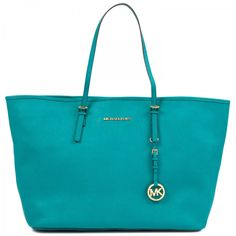 Michele Kors Jet set travel medium tote bag AQUA £240