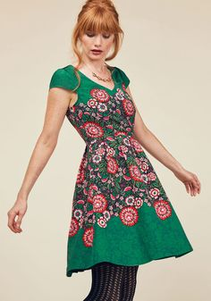 You Can Fete On It A-Line Dress, #ModCloth