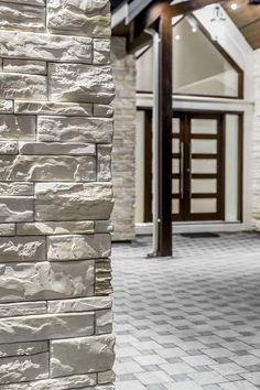 Kenya Almond White by Rinox White Almonds, Manufactured Stone, Luxury Vinyl, Vinyl Flooring, Urban Design, Kenya, Interior And Exterior, Natural Stones, Concrete