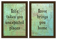 Life takes you unexpected places...