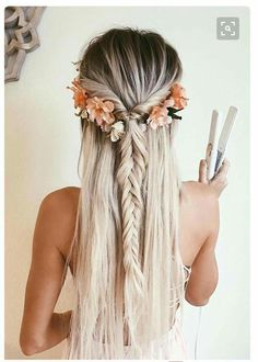 beachy boho hair inspo