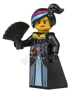 LEGO Wild West Wyldstyle Minifigure Photo from 71004 the Lego Movie Minifigures by Brick2you on Etsy