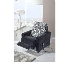 Shiito les presenta este sillón, con un bonito estampado en el respaldo. Dispone de relax eléctrico, por lo que podrá descansar y relajarse mientras ve la televisión o lee un libro.