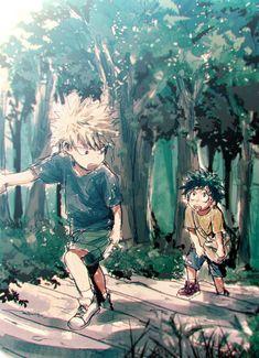 KatsuDeku Kacchan Deku Bakugou Midoriya Boku no Hero Academia