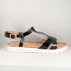 Poze Sandale Ivi Negre Birkenstock Milano, Shoes, Fashion, Moda, Zapatos, Shoes Outlet, Fashion Styles, Shoe, Footwear