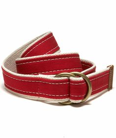 Canvas O-Ring Belt: ACCESSORIES L.L.Bean Signature Collection