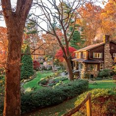 Paint the Fall with Color: Asheville Gentling Cottage Garden