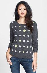 Halogen® Cashmere Crewneck Sweater (Regular & Petite) available at Nordstrom.