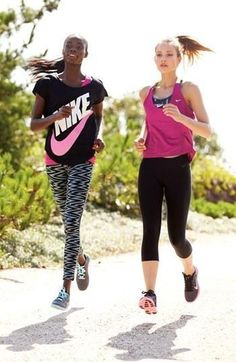 Run with your bestie!