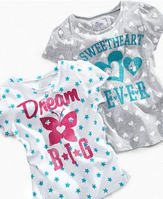 So Jenni Kids Shirt, Little Girls Spot Tees - Kids Graphic Tees - Macy's