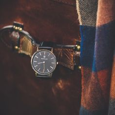 Nothing like real leather on the Marc Watch Daniel Wellington, Real Leather, Watches, Accessories, Collection, Wrist Watches, Tag Watches, Watch