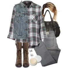 """""""Malia Inspired Outfit with a Denim Vest"""" by veterization on Polyvore"""