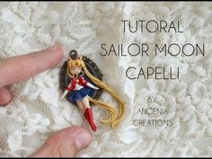 TUTORIAL angenioso - i capelli di sailor moon con fil d ferro - YouTube