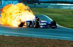 Pedro Diniz (BRA) Ligier JS43 - Mugen Honda MF301HA 3.0 V10 (RET), 1996 Argentinian Grand Prix.