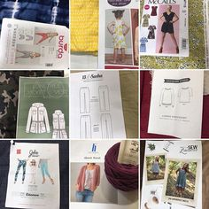 I finally got my #2018makenine put together. I already had all the fabric in my stash! Surprise, surprise! My quicksand sweater just needs sleeves to be finished, so I'm off to a decent start. #grainlinestudio #closetcasepatterns #heidikdesigns #lonetreejacket #sewliberated #jalieeleonoreheidileeannsewslonetreejacket,sewliberated,closetcasepatterns,heidikdesigns,2018makenine,grainlinestudio,jalieeleonore