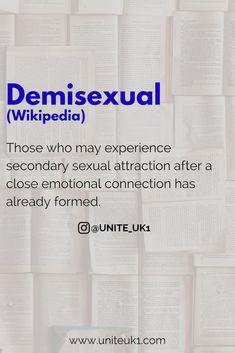 Demisexual wikipedia