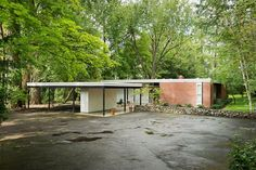 Mid Century Modern Architecture | Mid Century Architecture Spotted by Plastolux