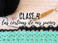 TUTORIAL DE CROCHET GRATIS! LAS CORTINAS DE MIS SUEÑOS - CLASE 4 - Ahuyama Crochet