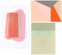 via Seesaw- A study in colors and shapes from this art by Courtney Price