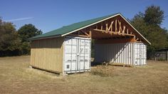 Shipping Container Barn Austin TX #containerhome #shippingcontainer