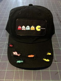 4197ed6dff027 Retro Pac-man dad hat. Asael Gomez · Hats