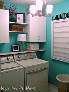 Category » Home Remodeling Ideas « @ House Remodel Ideas  If I ever have a finished laundry room, I'd want it to look like this!