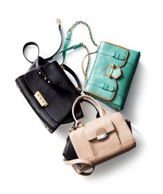 Cute, over-sized carryalls for spring.