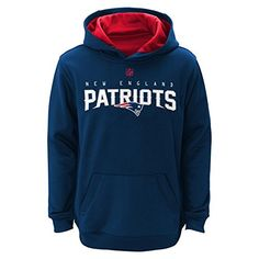 New England Patriots Youth NFL Reflect Pullover Hooded Performance Sweatshirt -- See this great product.
