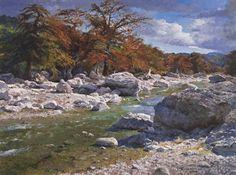 Artist: James Robinson - Title: Color on the Pedernales